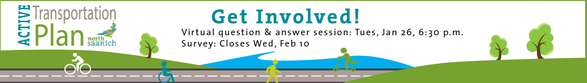 Active Transportation in North Saanich.