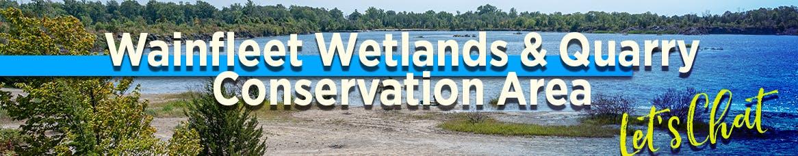 Wainfleet Wetlands & Quarry header