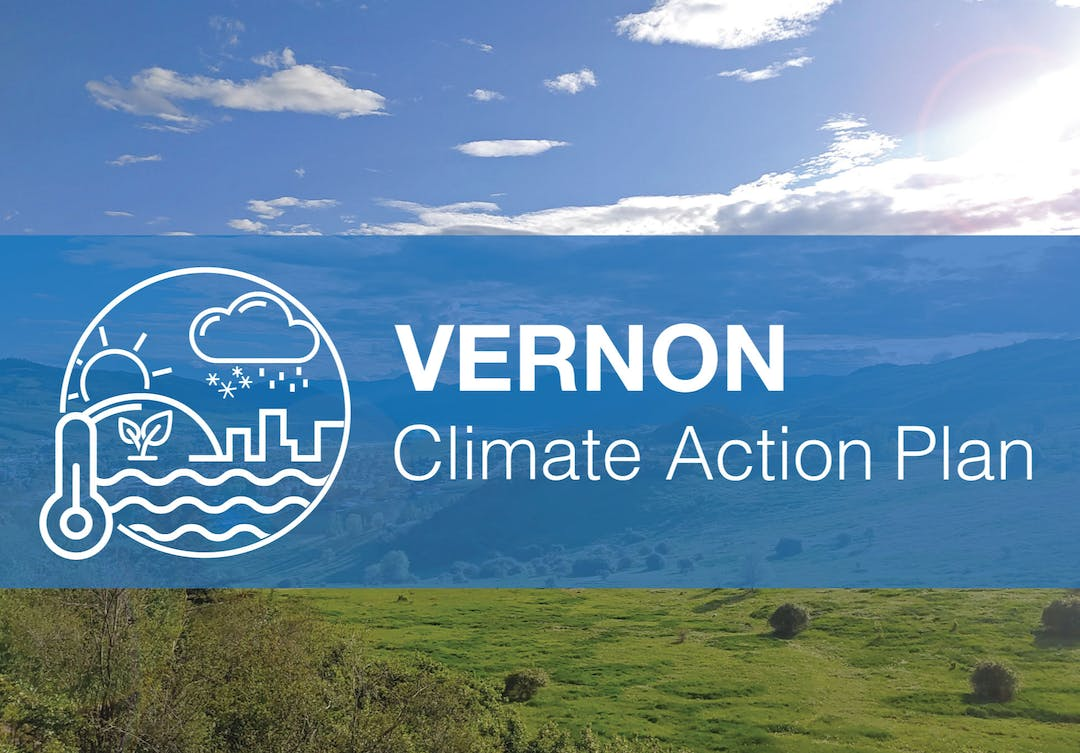 Vernon Climate Action Plan Cover Page