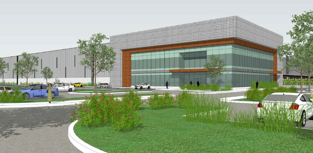 Warehouse/Distribution Centre Rendering