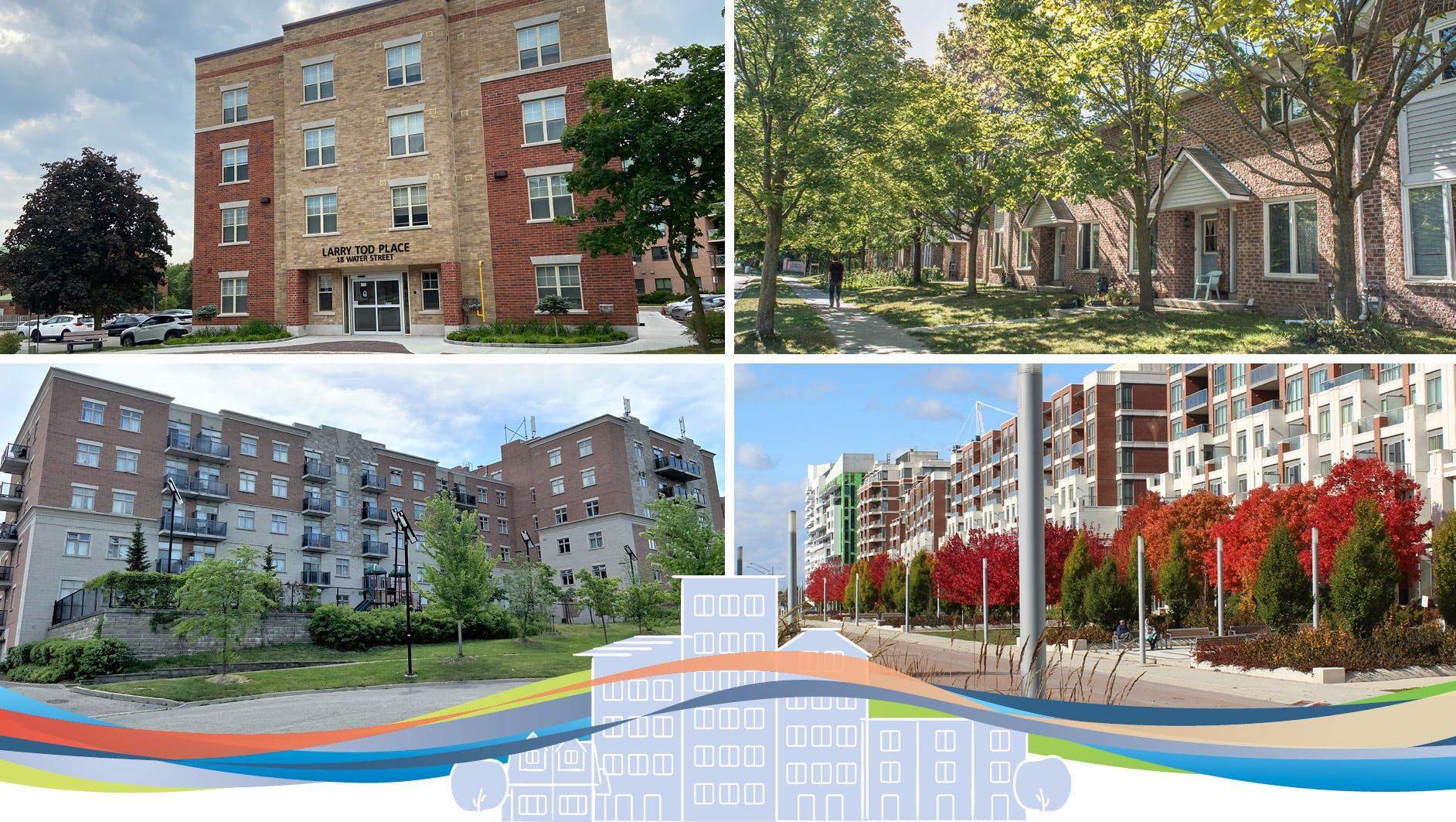 Variety of multi-residential residences
