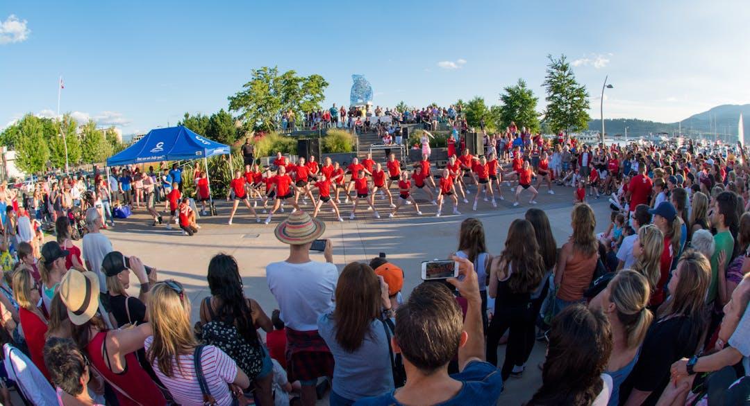 Event celebration in Kelowna