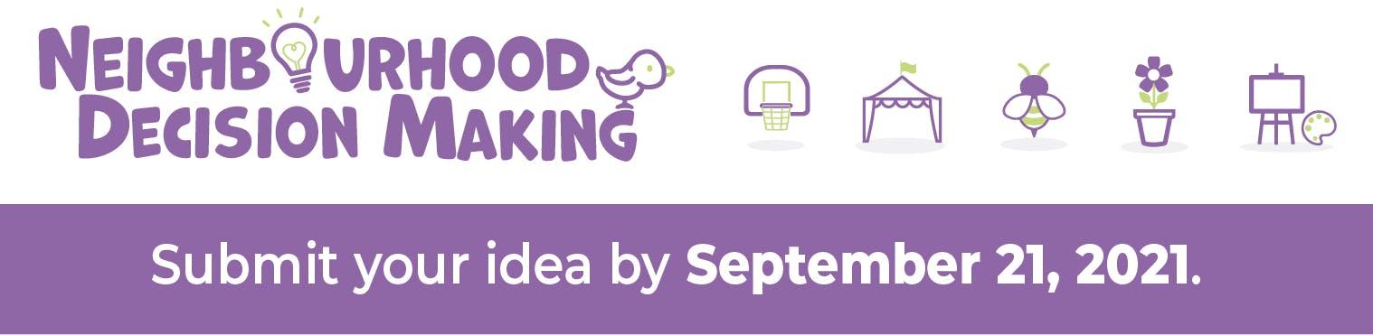 Neighbourhood Decision Making promotional banner