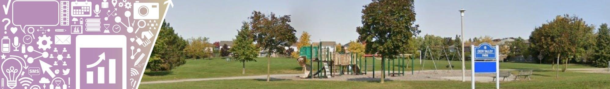 Deer Valley Park Redevelopment Banner