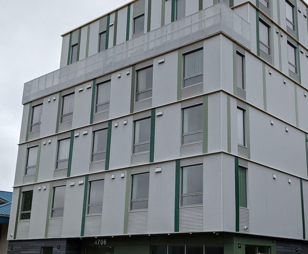 The Baird Blackstone Building facade