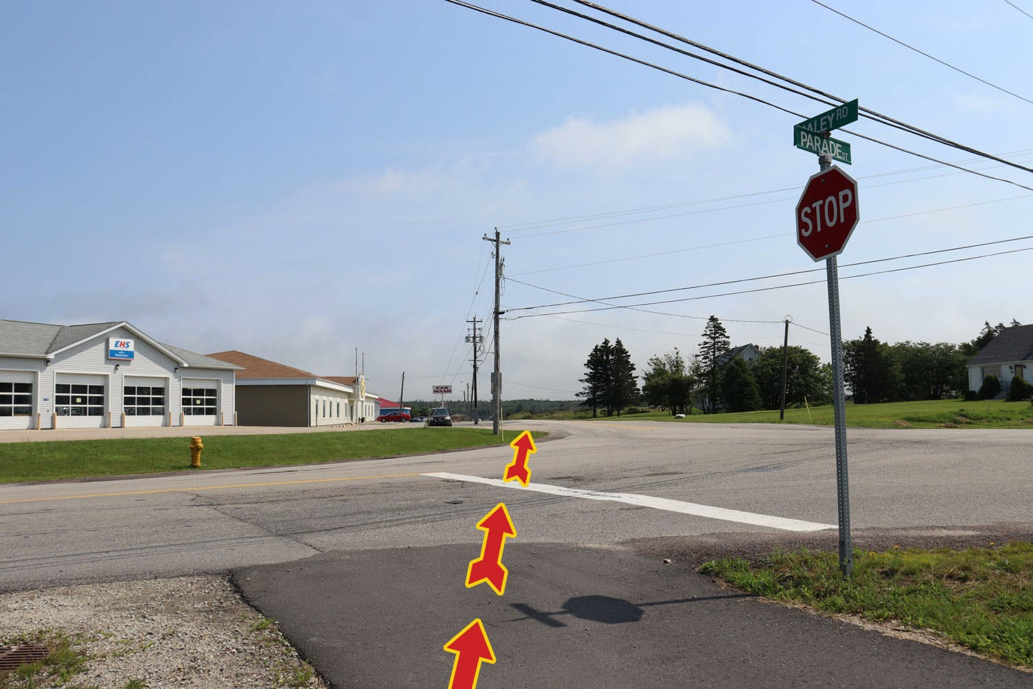 Asphalt multi-use trail will be added between Starrs Road and Parade Street on Haley Road