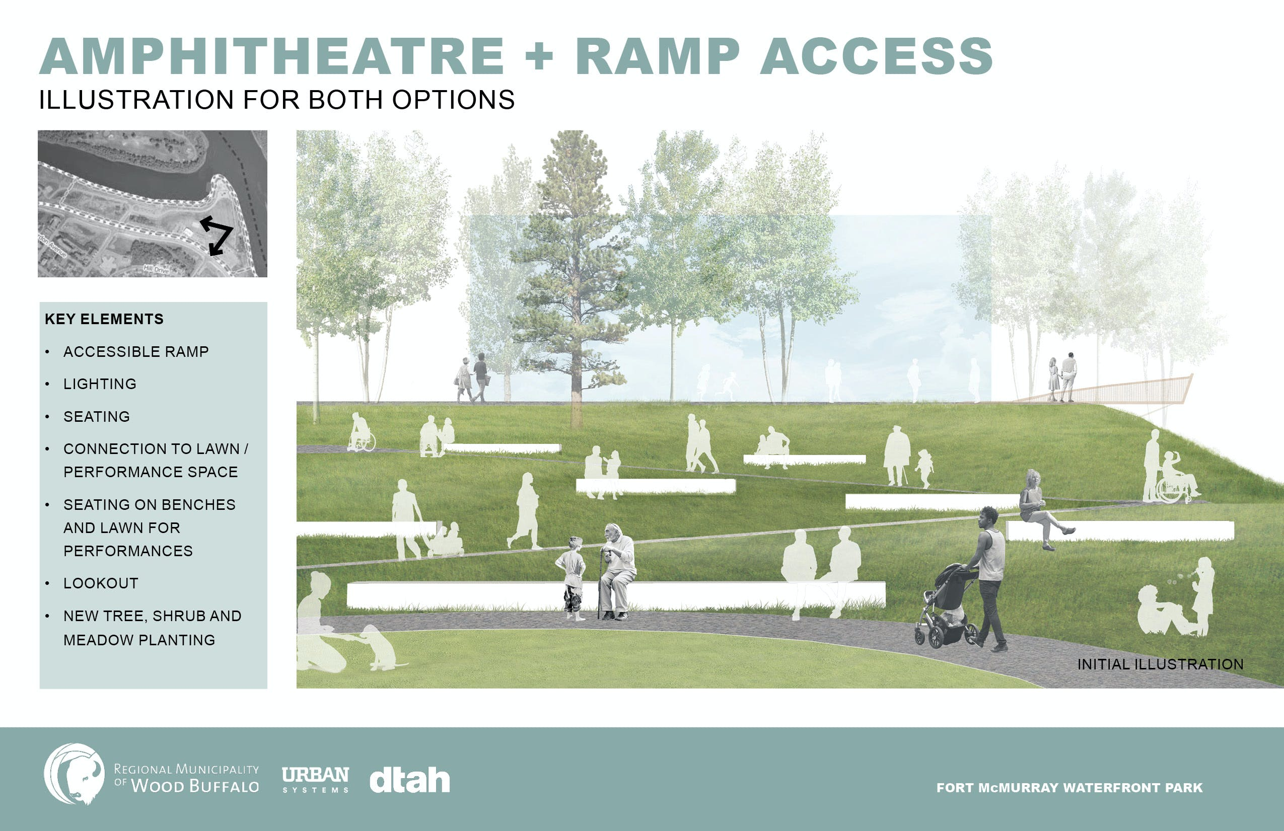 Amphitheatre + Ramp Access