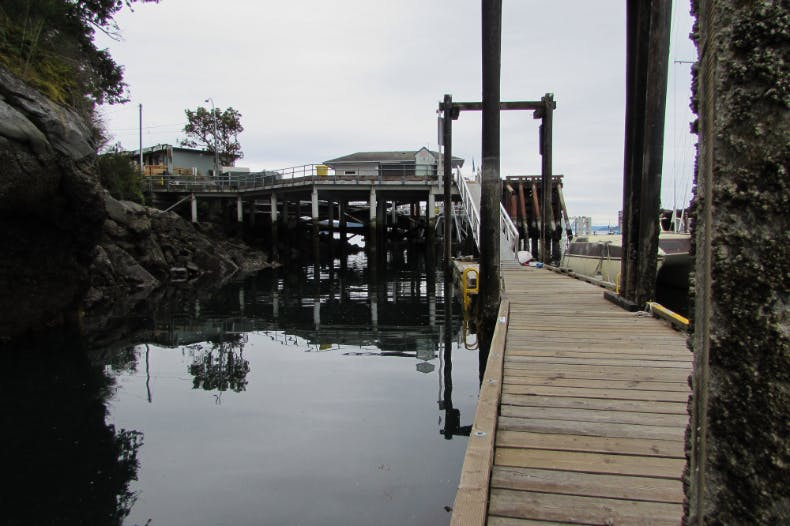 CRD dock at Lyall Harbour, Saturna Island