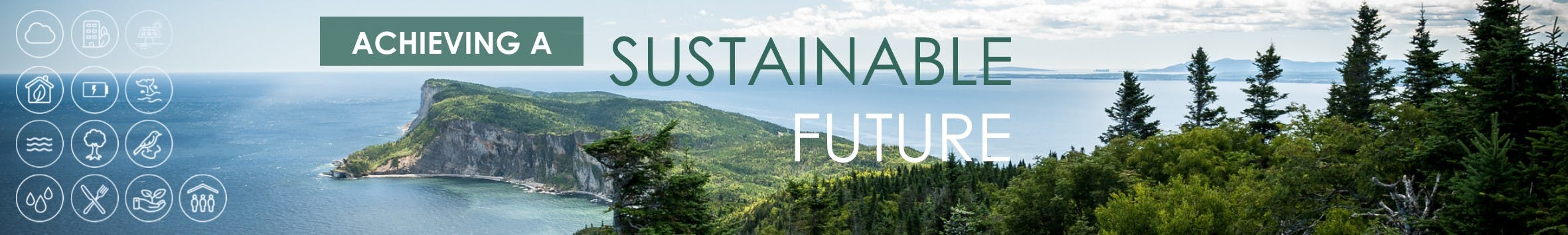 Achieveing a sustainable future