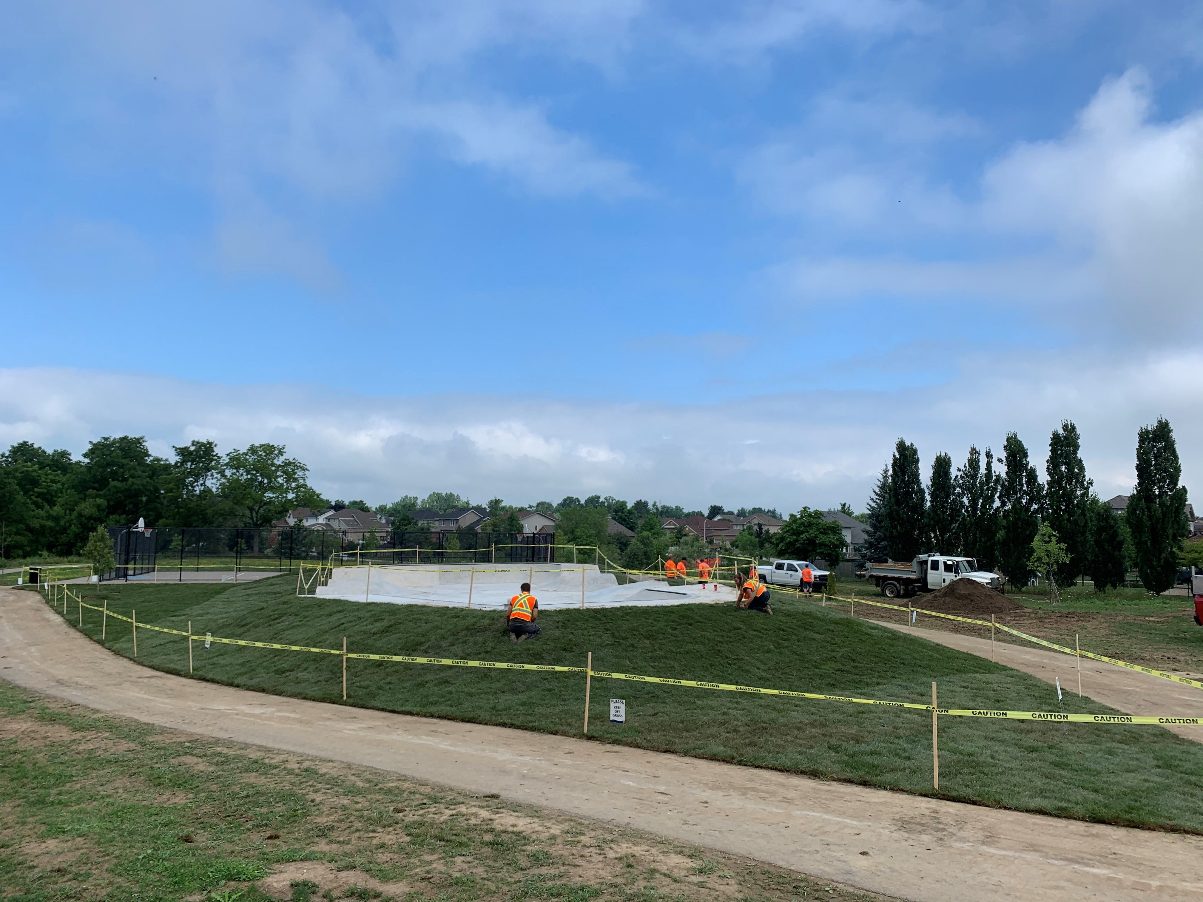Turvey Park Construction Completed
