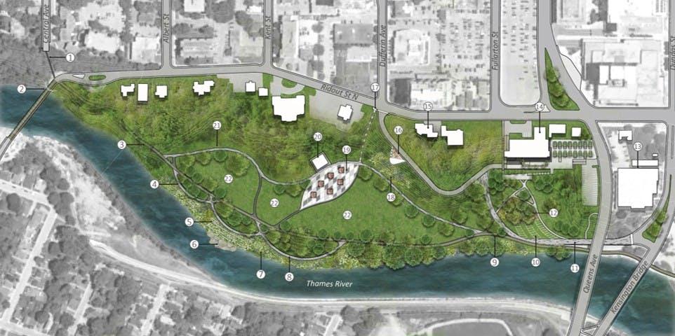 531 Ridout Street North – Harris Park Master Plan