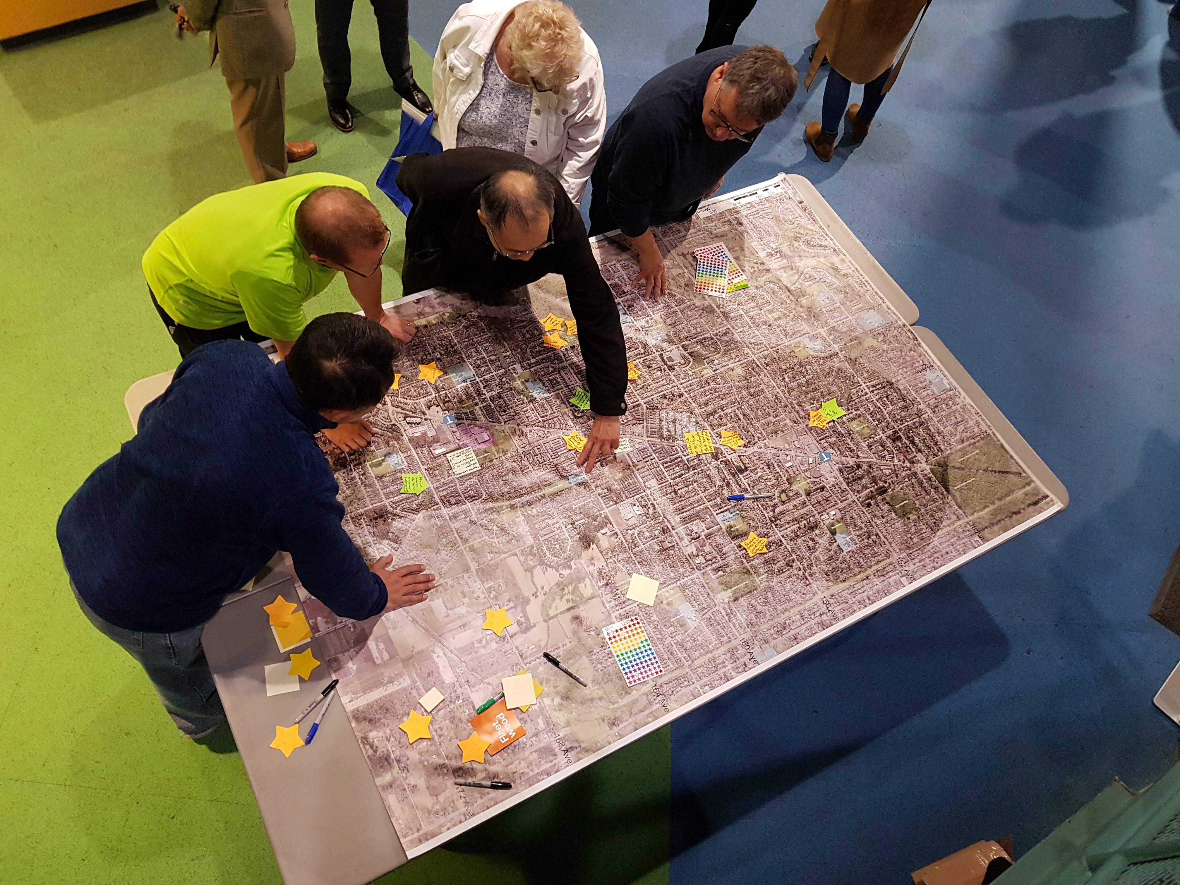 Fleetwood Plan Open House - Map