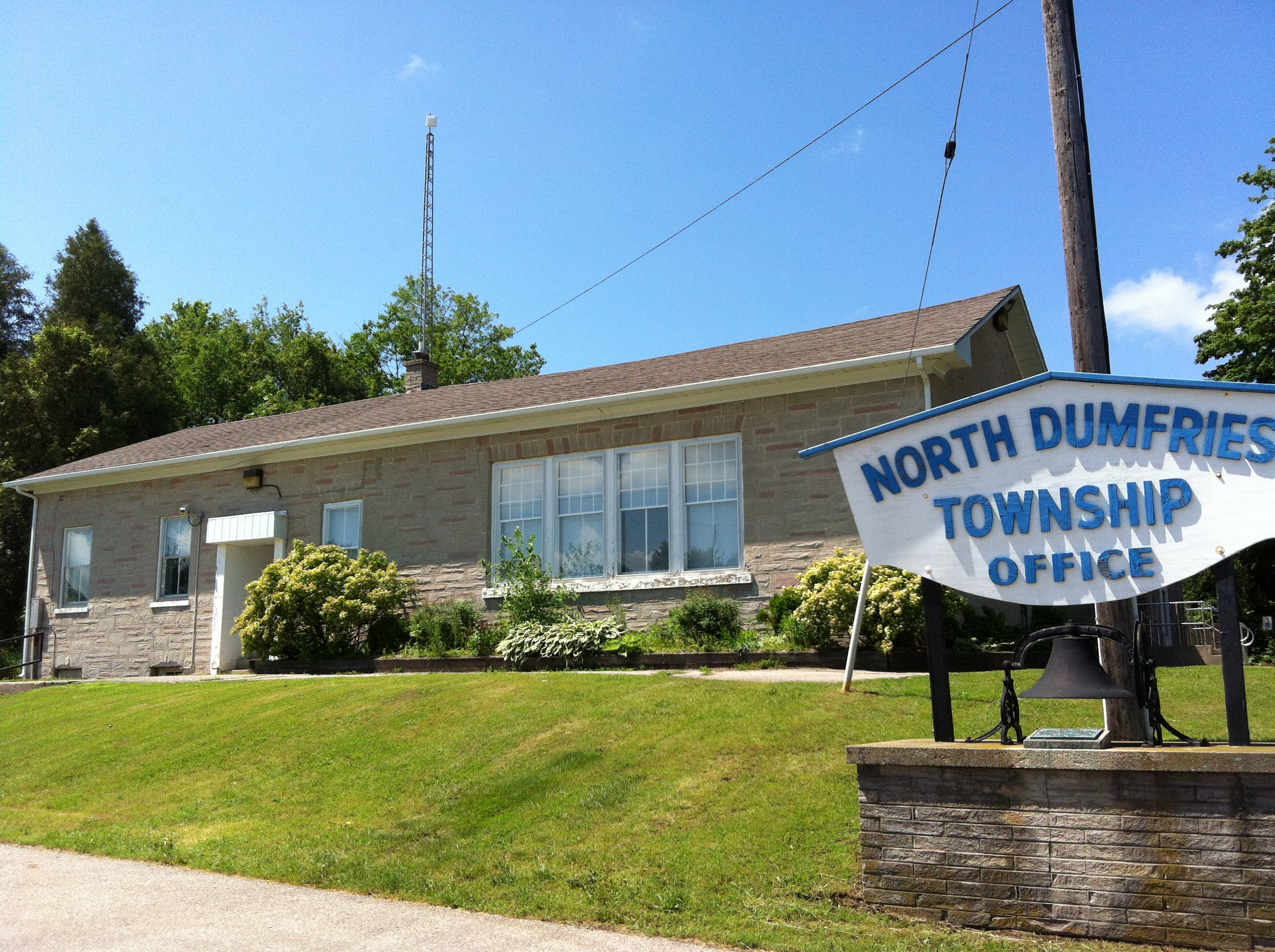 Old North Dumfries Township Offices
