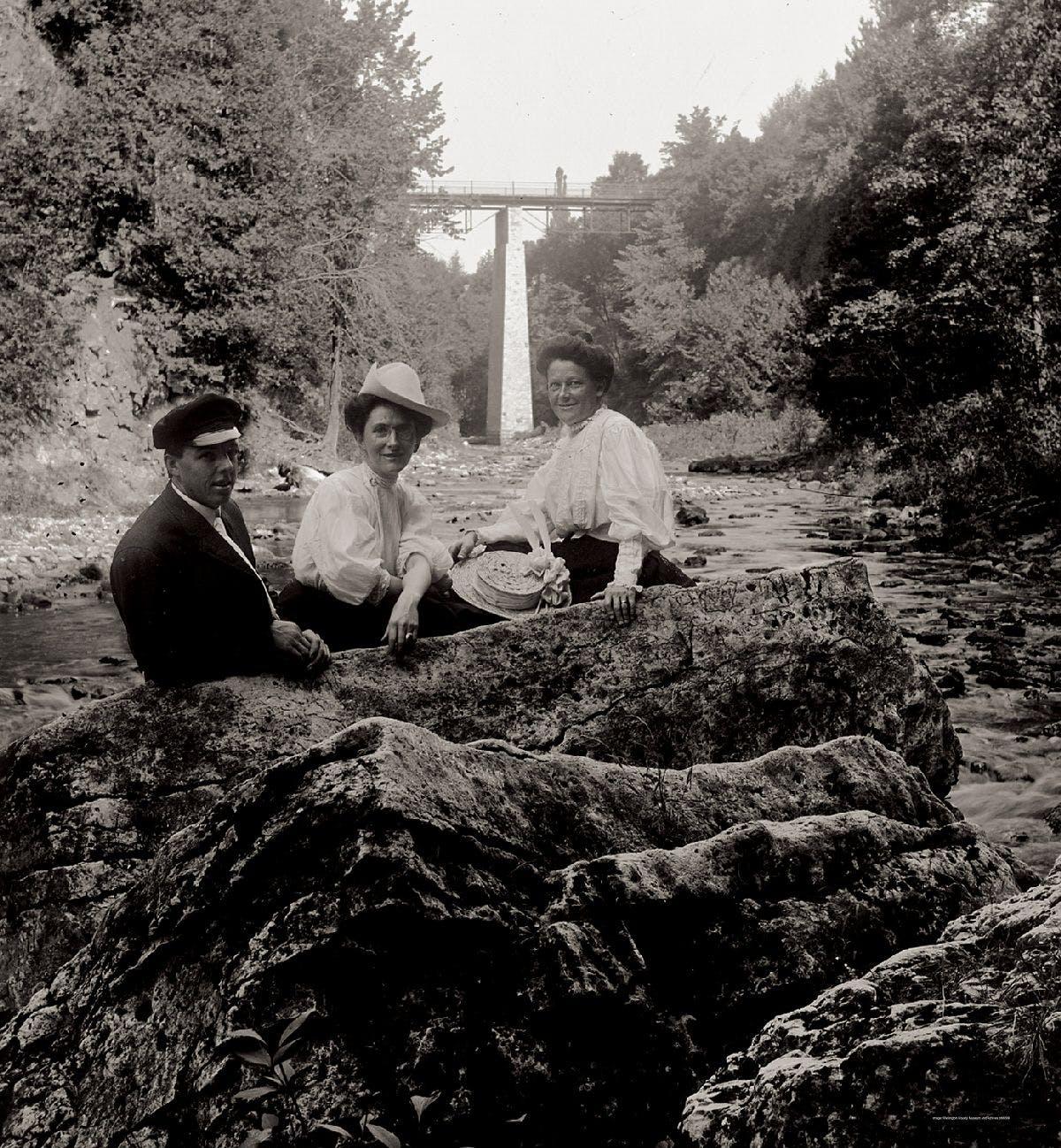 Elora Gorge ladies of luxury!  by Connan.jpg