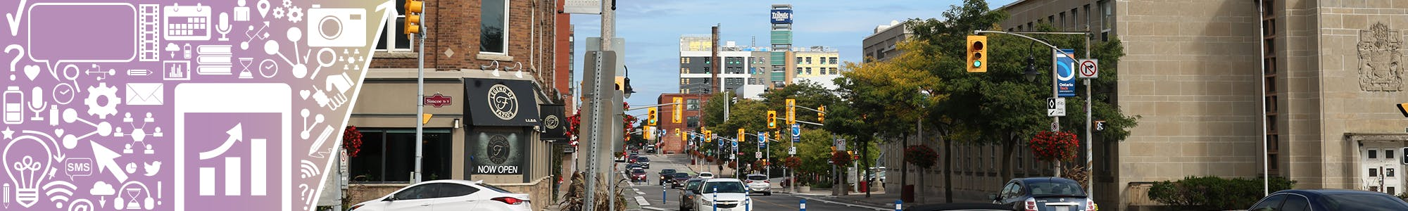 View of a section of Athol Street that could be renamed to Memorial Cup Drive