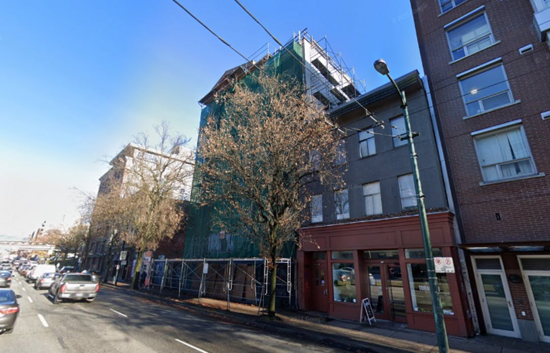 A single room occupancy hotel at 956 Main Street.