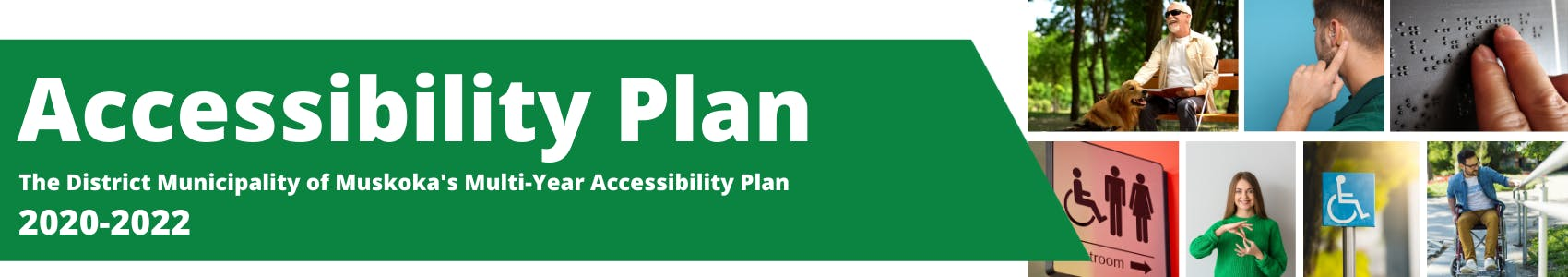 Accessibility Plan Banner
