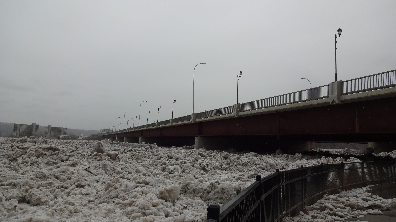 Ice Jam at the Bridge.JPG