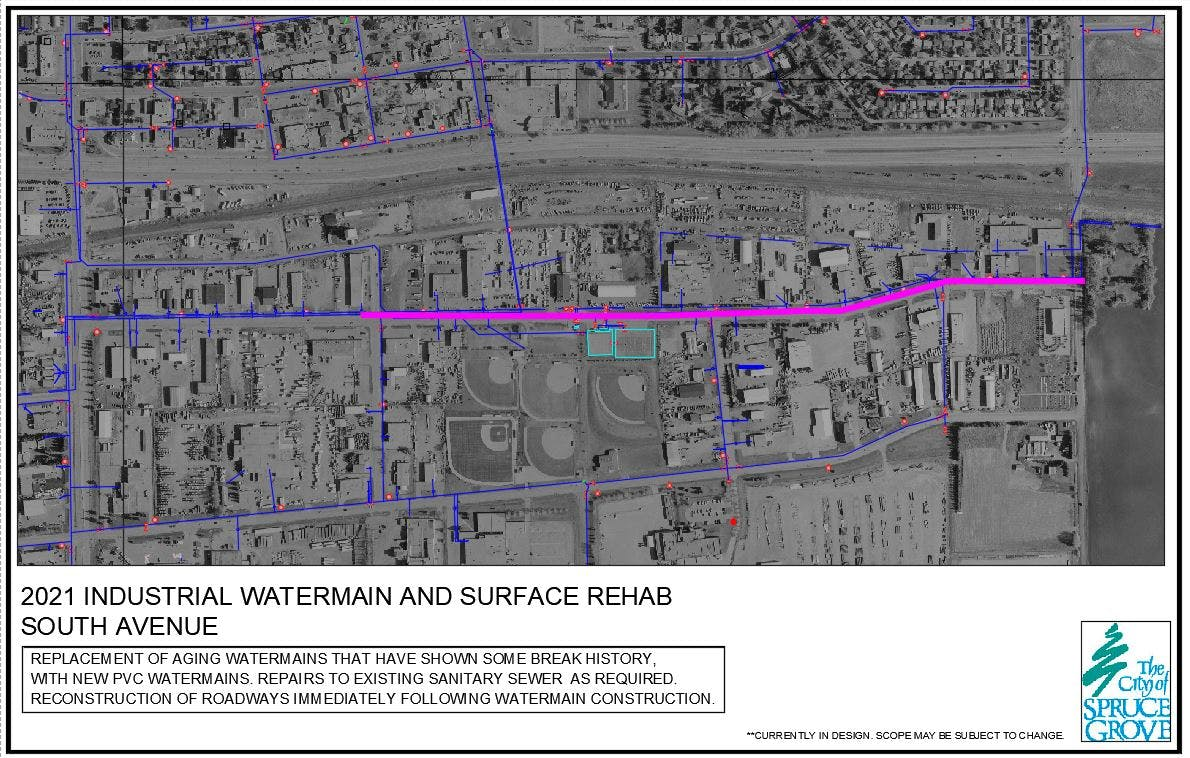 Watermain and Surface Rehab – South Avenue