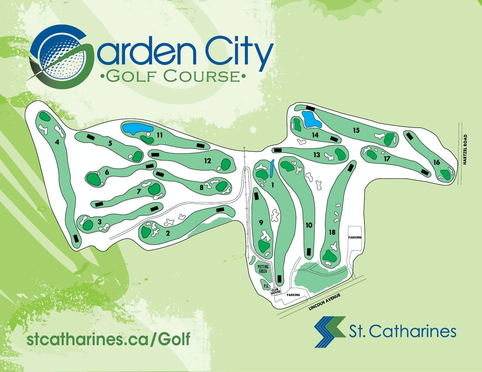 Garden City Golf Course layout