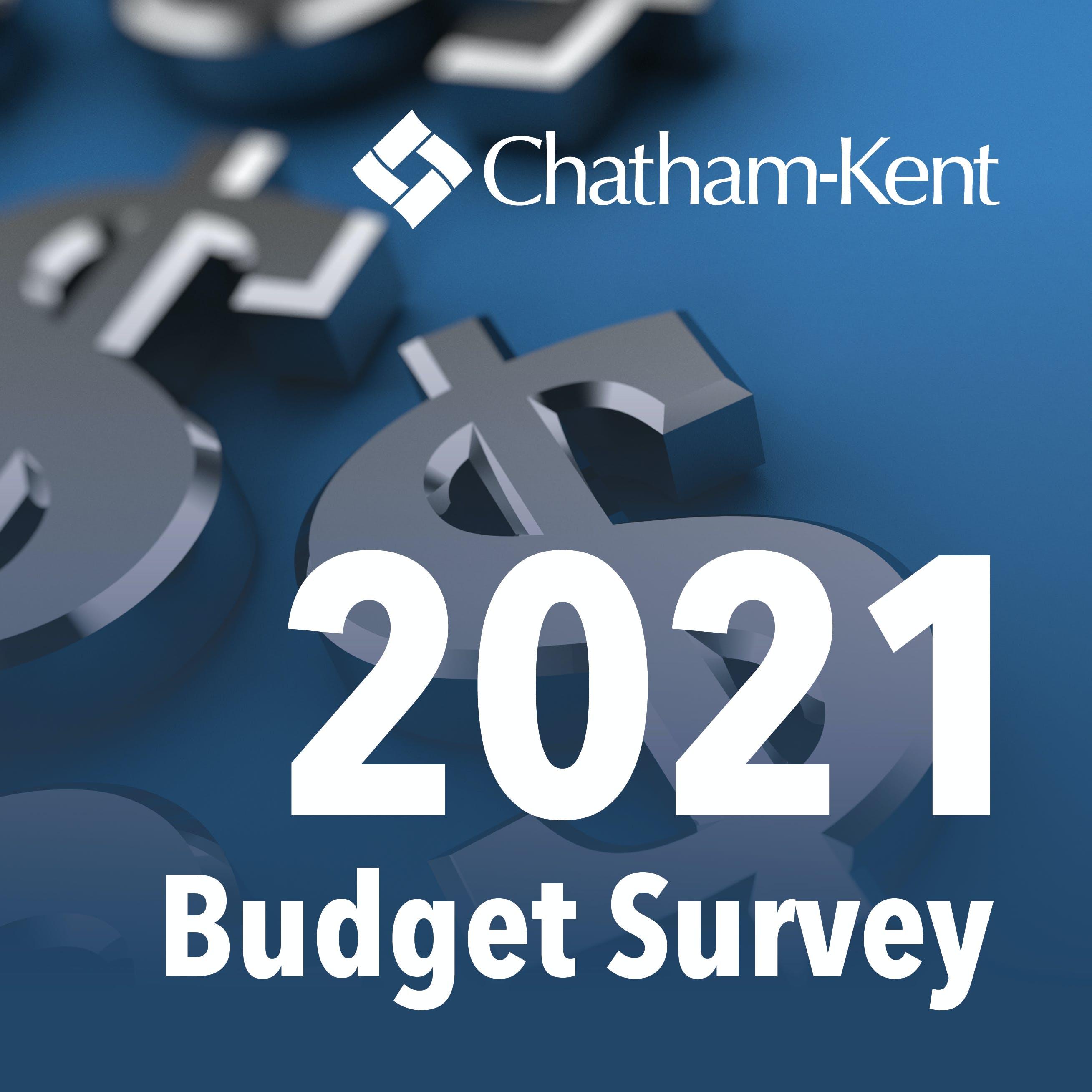 2021 Budget Survey Let's Talk