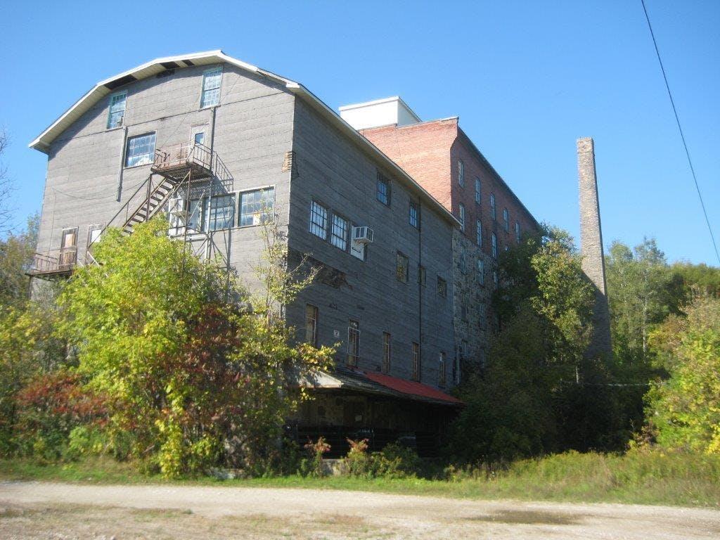 Greenfield Mill rear