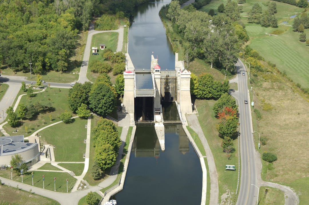 Photo of Peterborough Liftlock, Hunter Street East and Ashburnham Drive