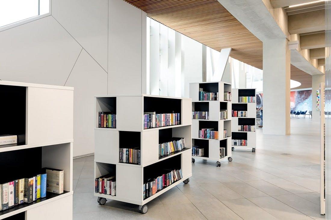 Calgary Central  Public Library, Snøhetta photo courtesy hafnia products.jpg