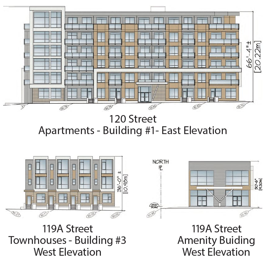 Sample Building Elevations
