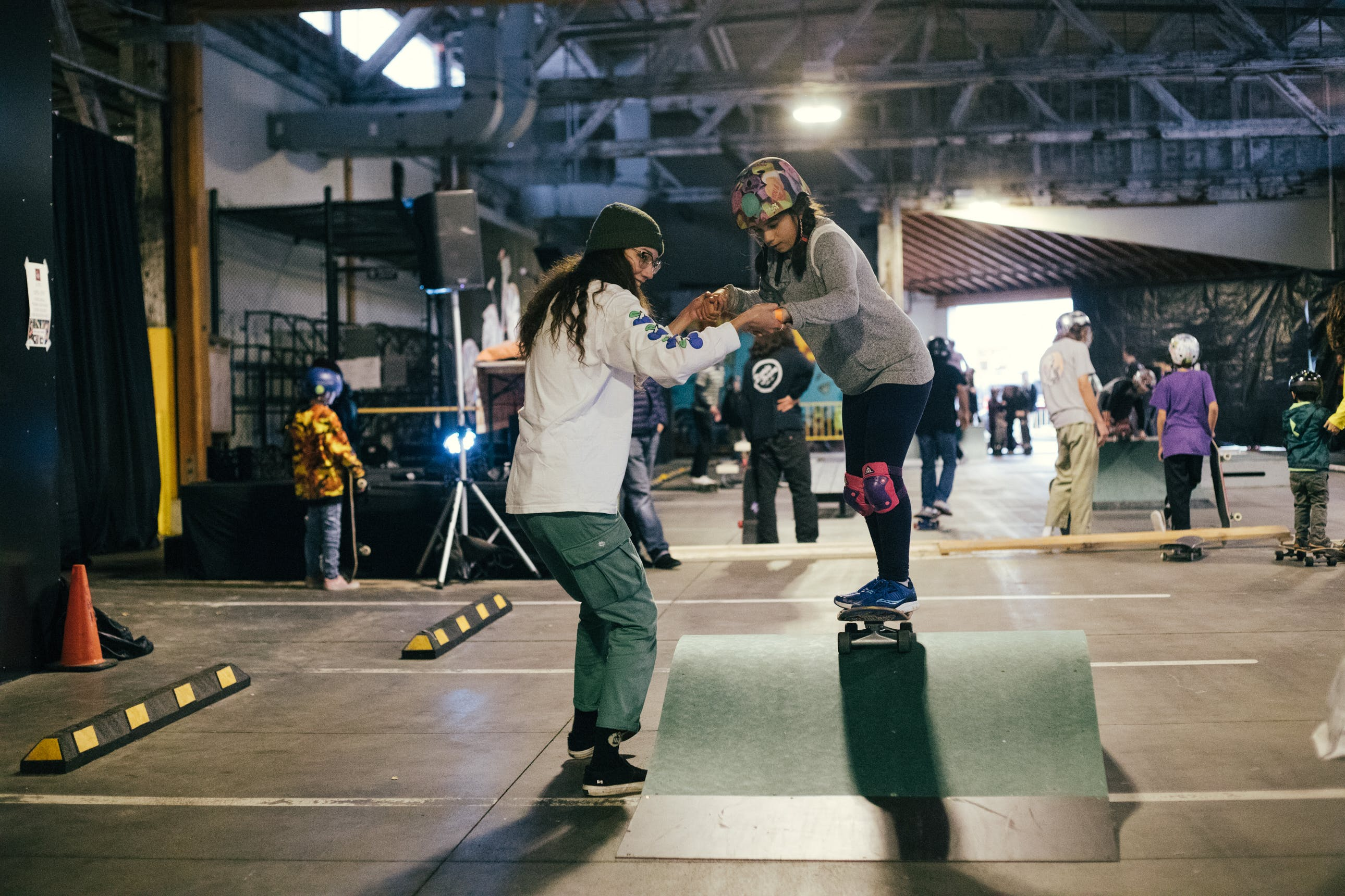 All Aboard Skateboard event Granville Island