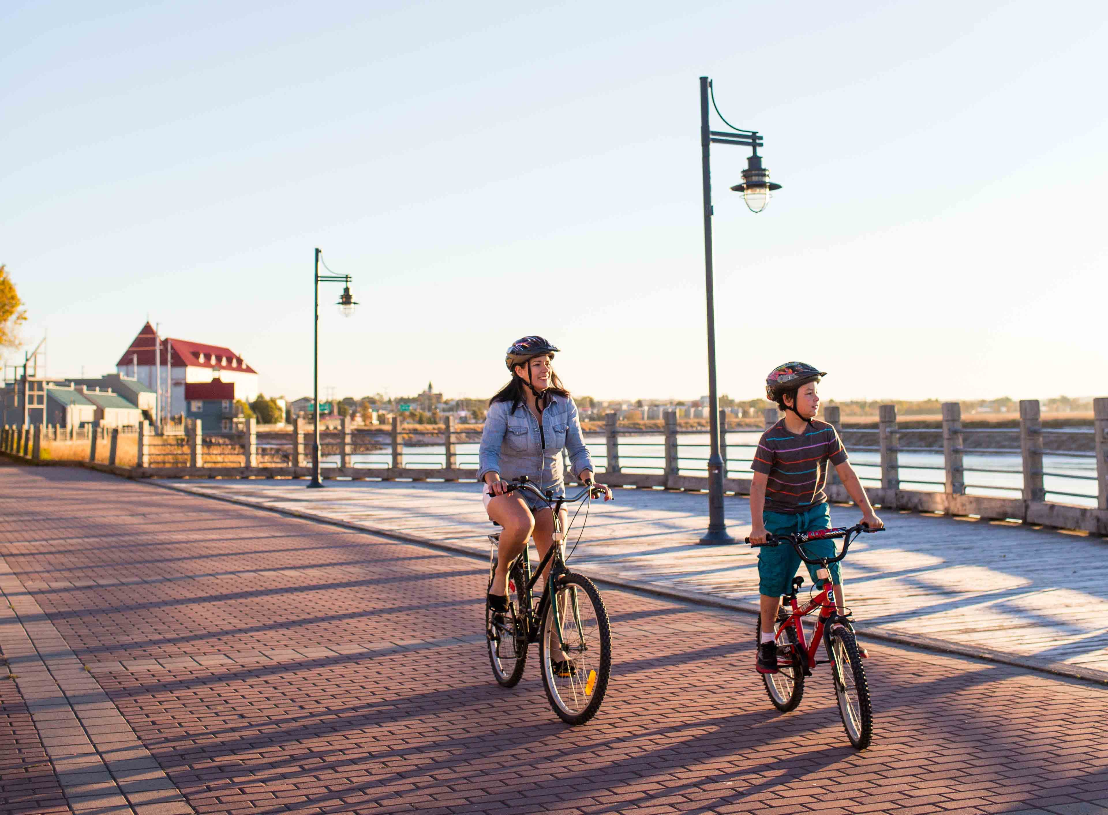 Riverfront Trail and boardwalk