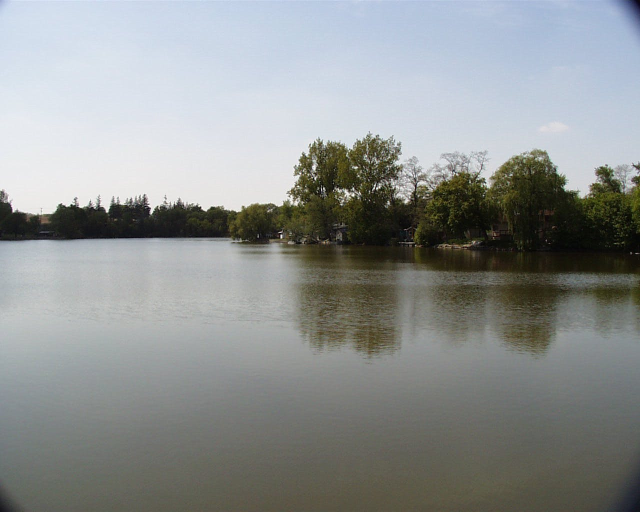 Alder Lake in New Dundee