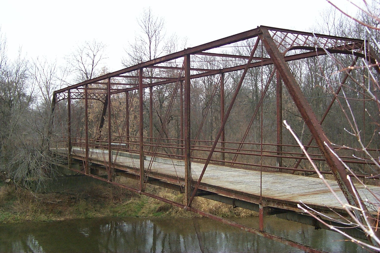 Nithvale Road Steel Truss Bridge