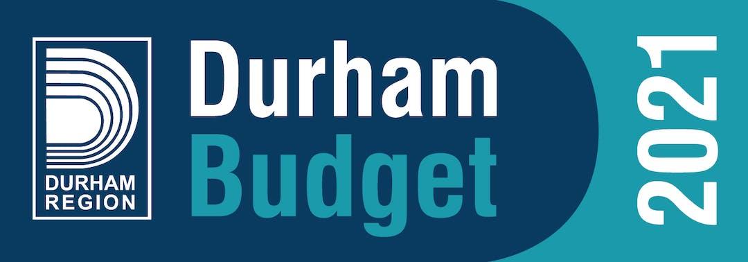 Durham Budget 2021 graphic