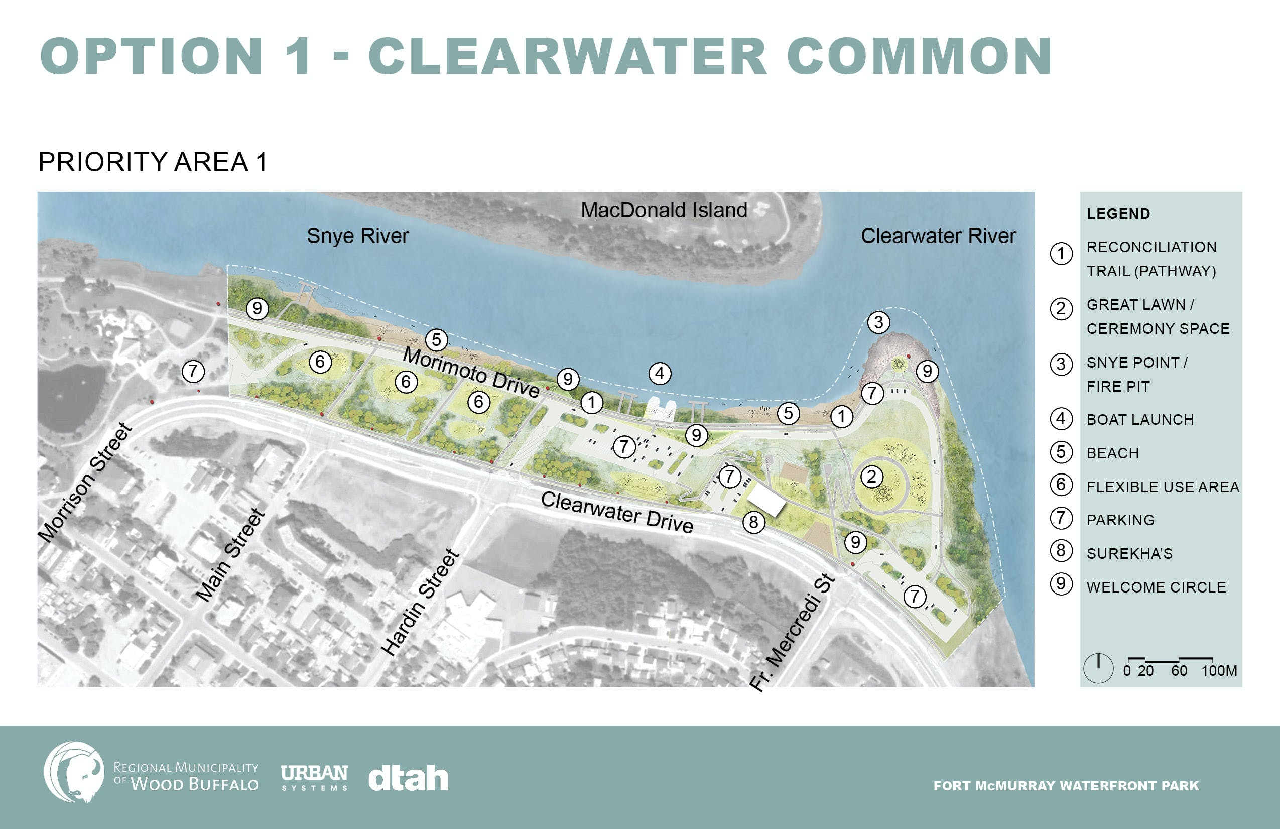 Option 1 - Clearwater Common