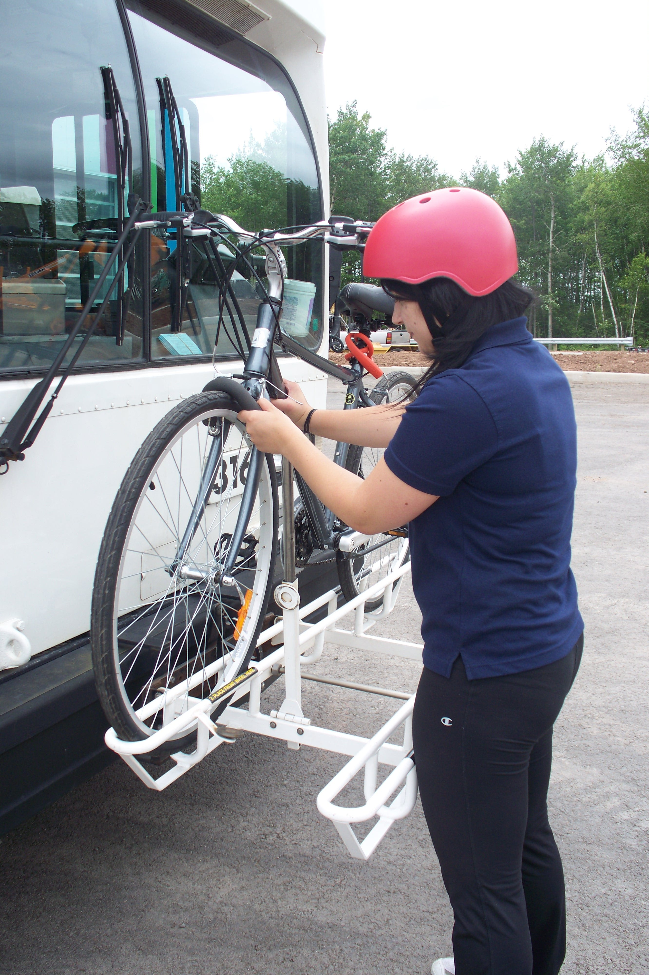 Bike rack - Codiac Transpo