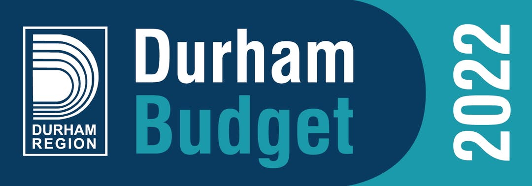 Durham Budget 2022 graphic