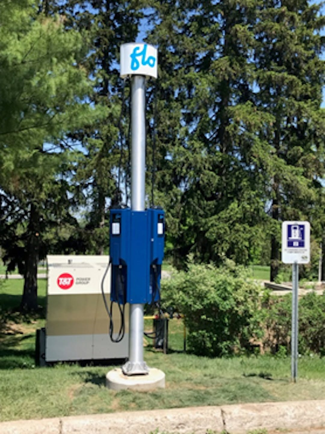 EV Charger in Halton Hills