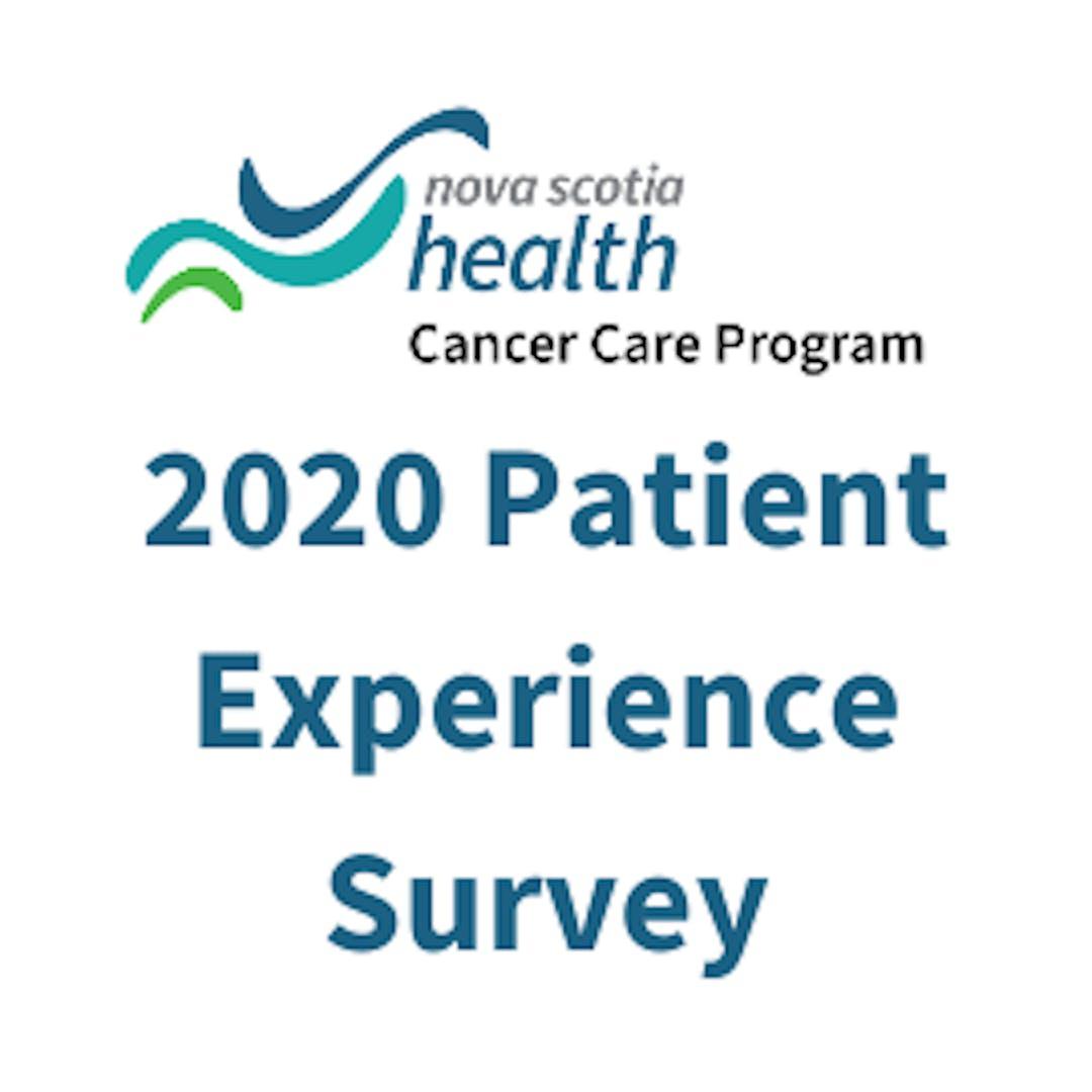 Nova Scotia Health Cancer Care Program- 2020 Patient Experience Survey