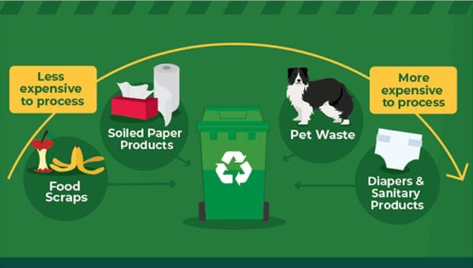 Potential Green Bin materials