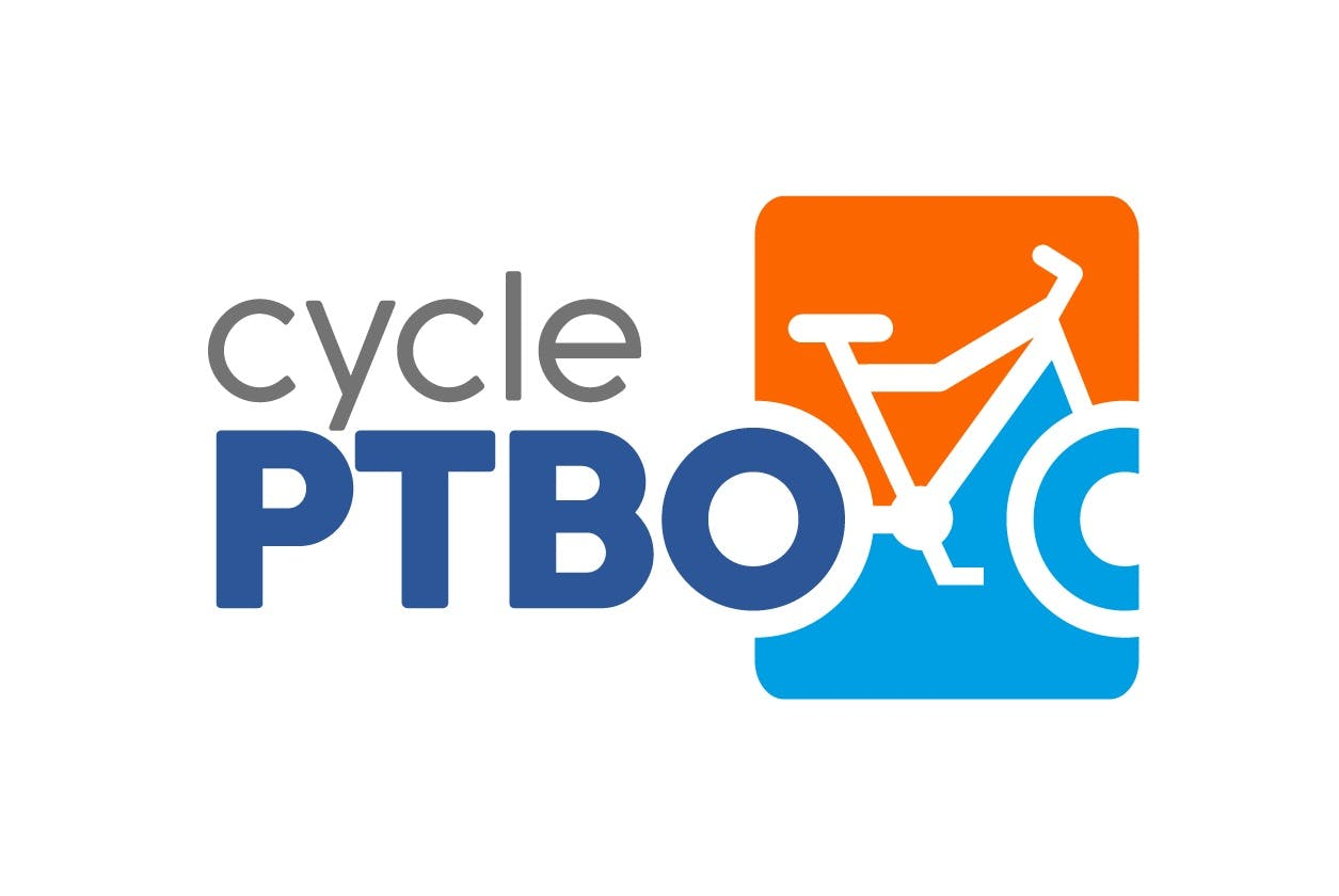 Cycle Ptbo logo used for Cycling Master Plan project