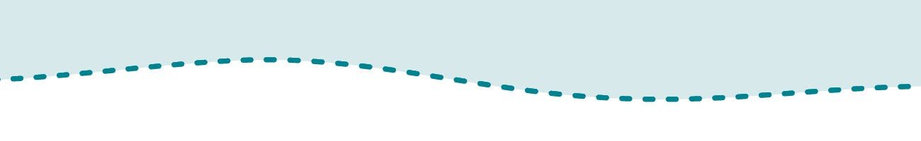 dotted line representing a bus route
