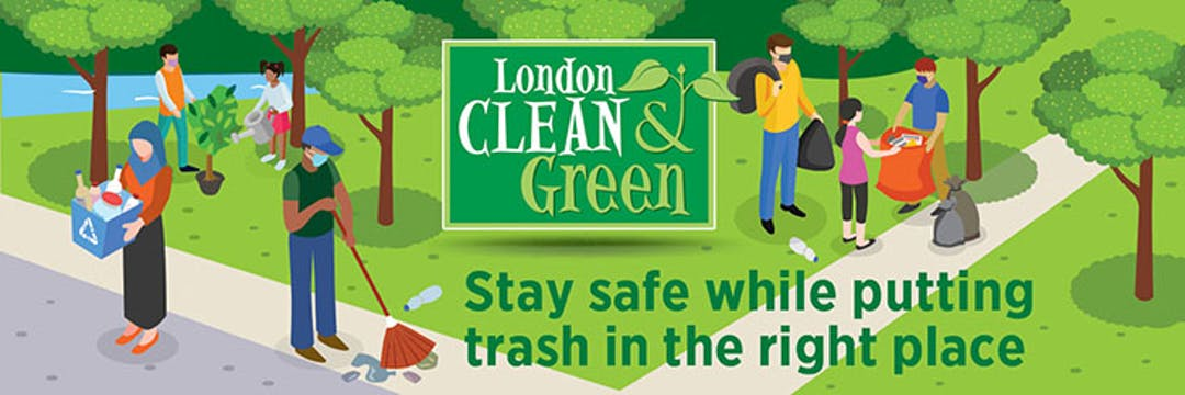 The London Clean and Green logo