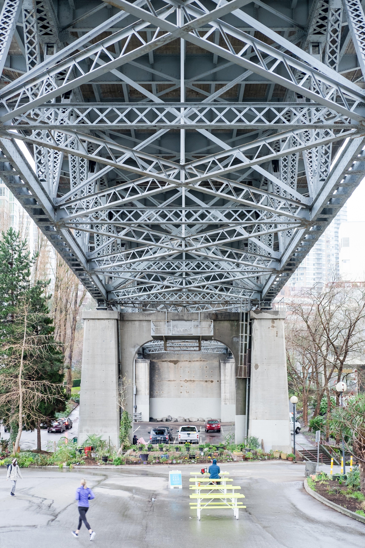 Burrard Bridge North Rain-Friendly Plaza