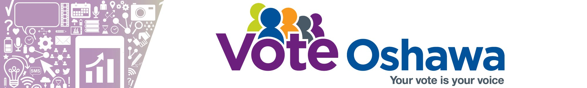 Vote Oshawa on Monday, October 22, your vote is your voice.