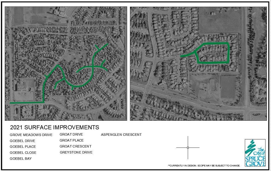 Surface Improvements – Grove Meadows Neighbourhood