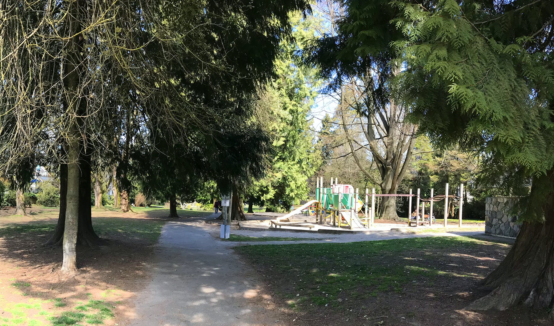 Concept A Location (Existing Playground) - North View
