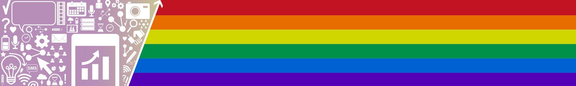 Rainbow Crosswalk Banner