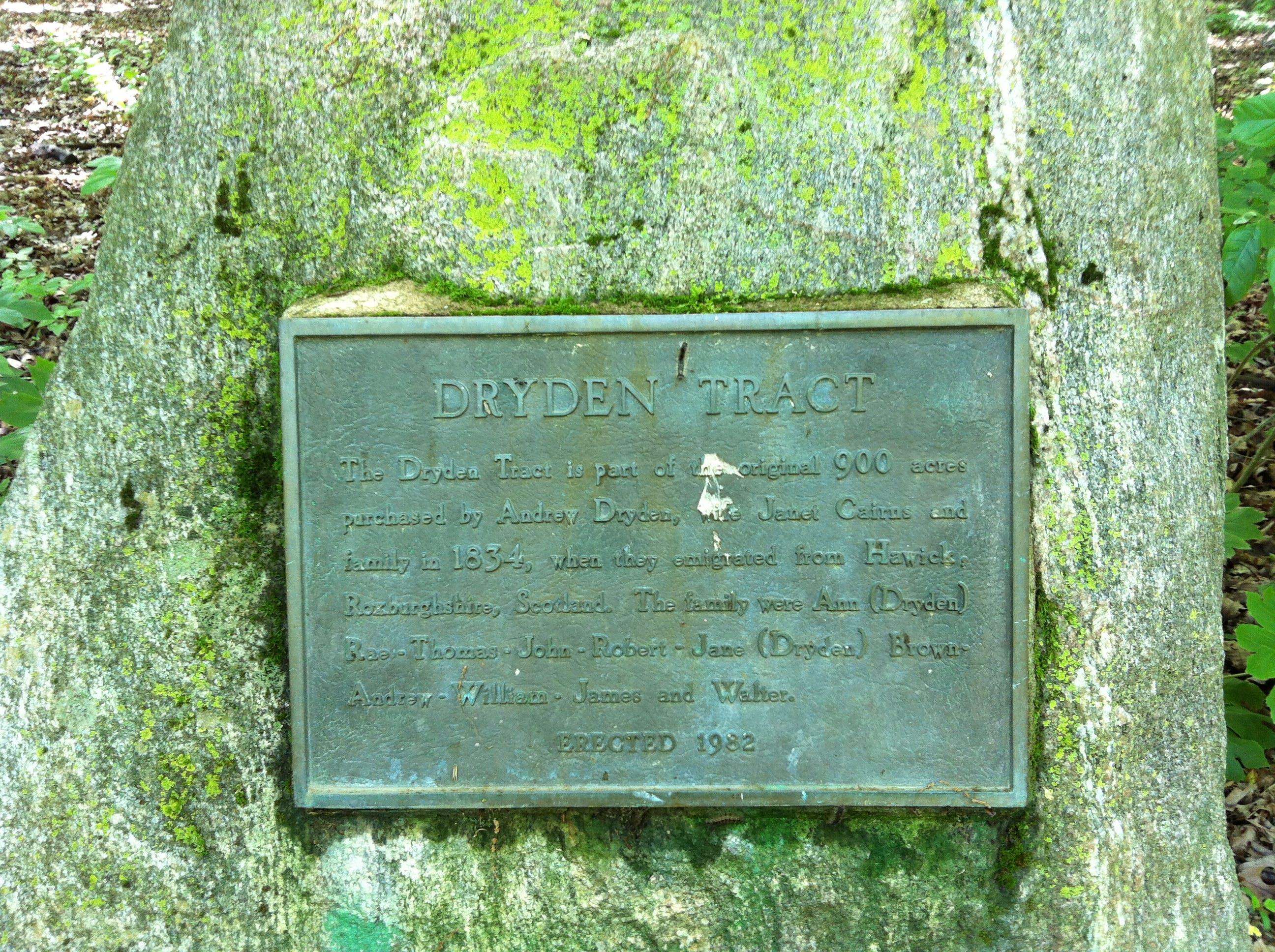 Dryden Tract Cairn
