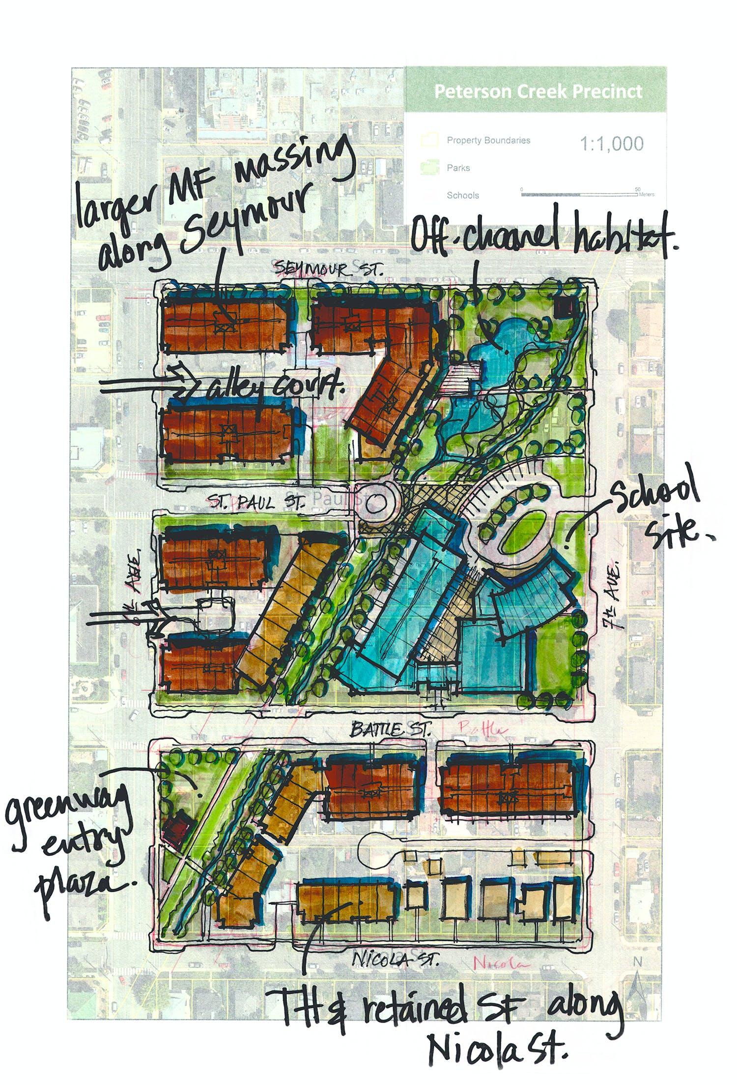 Peterson Creek District Site Plan